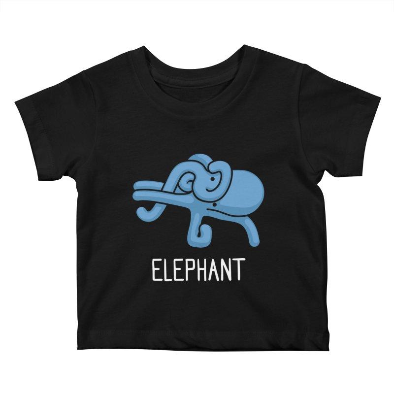 Elephant (Not an Octopus) Kids Baby T-Shirt by Gyledesigns' Artist Shop