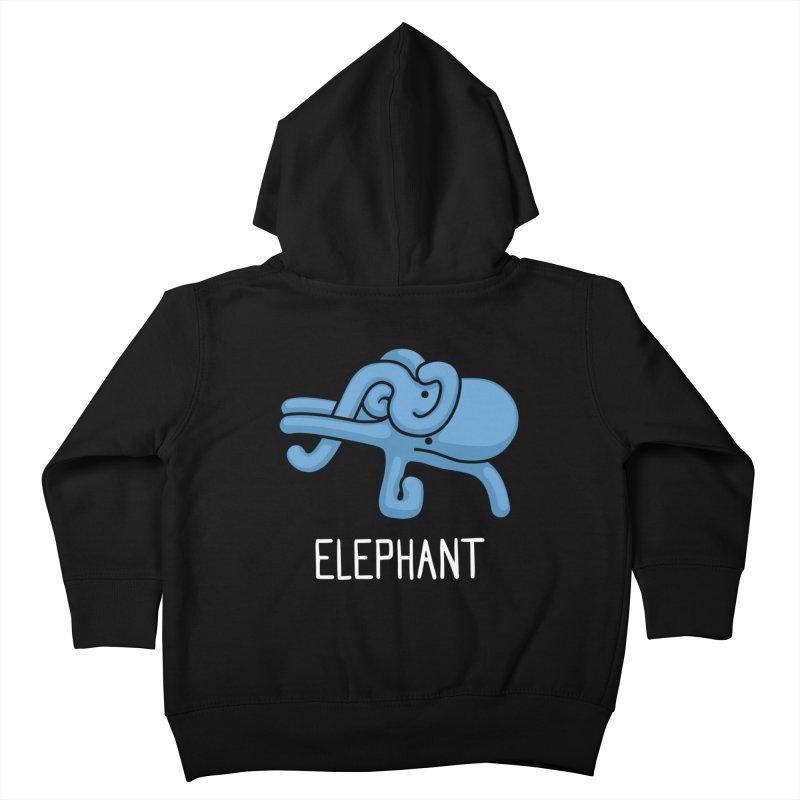 Elephant (Not an Octopus) Kids Toddler Zip-Up Hoody by Gyledesigns' Artist Shop