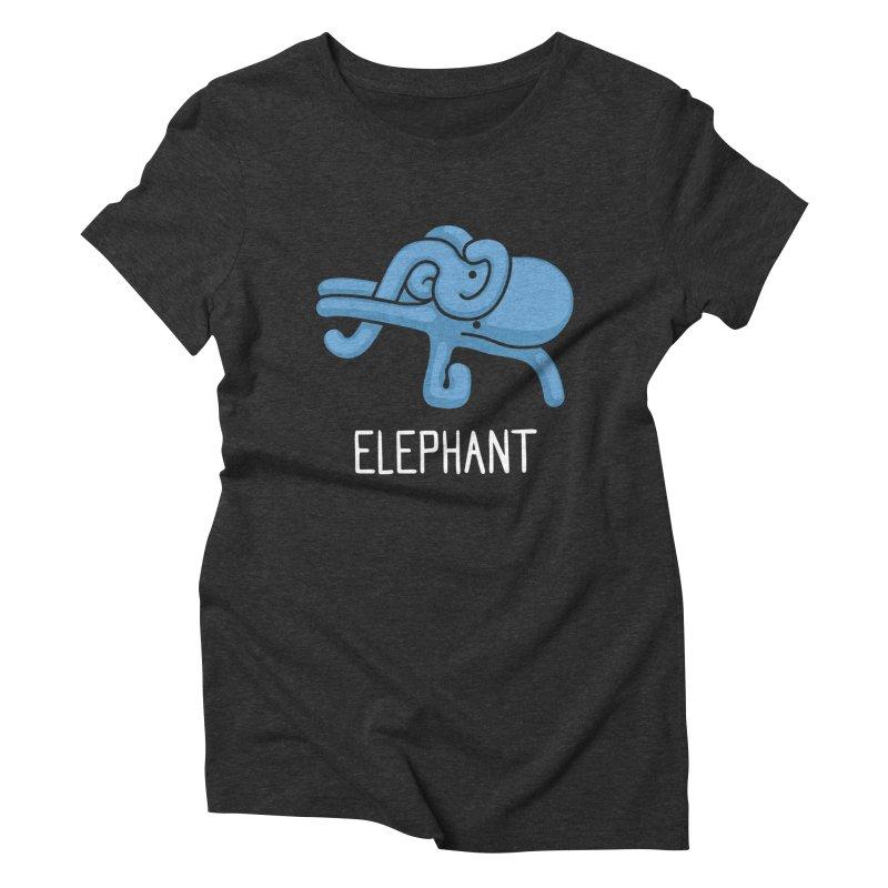 Elephant (Not an Octopus) Women's Triblend T-shirt by Gyledesigns' Artist Shop