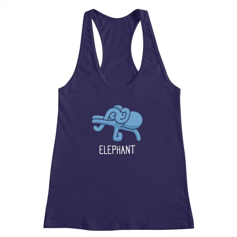 Elephant (Not an Octopus) Women's Racerback Tank by Gyledesigns' Artist Shop