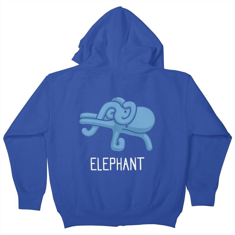 Elephant (Not an Octopus) Kids Zip-Up Hoody by Gyledesigns' Artist Shop