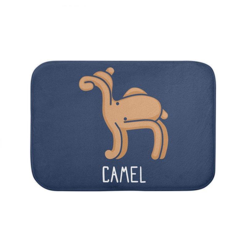 Camel (Not an Octopus) Home Bath Mat by Gyledesigns' Artist Shop