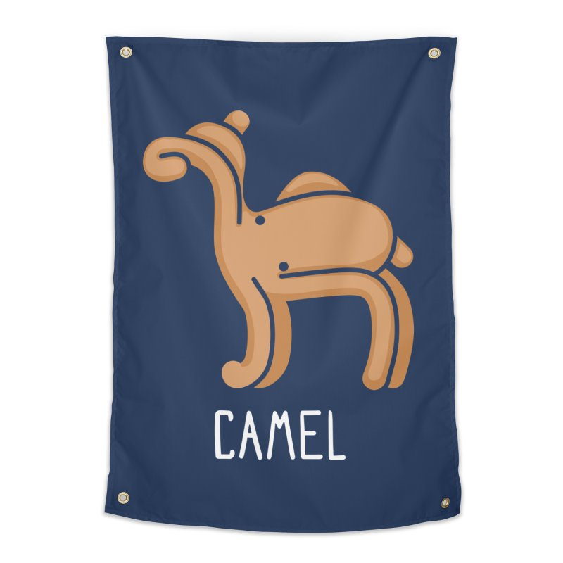Camel (Not an Octopus) Home Tapestry by Gyledesigns' Artist Shop