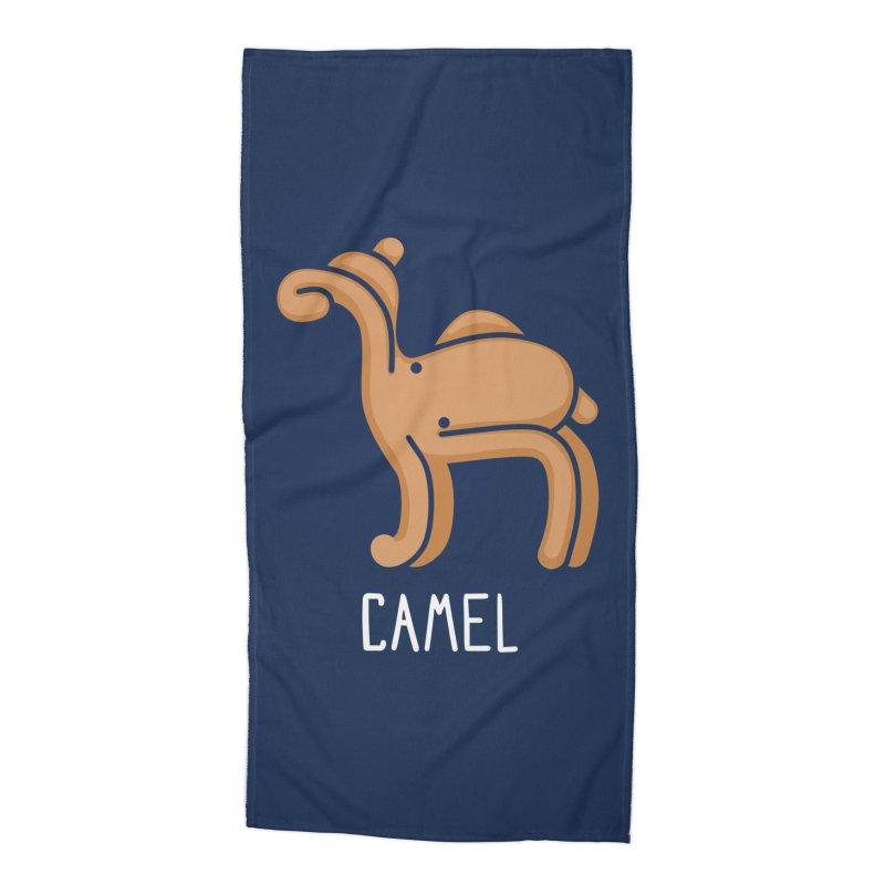 Camel (Not an Octopus) Accessories Beach Towel by Gyledesigns' Artist Shop