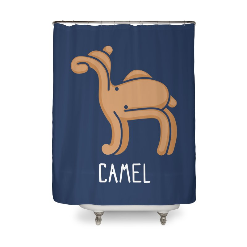 Camel (Not an Octopus) Home Shower Curtain by Gyledesigns' Artist Shop