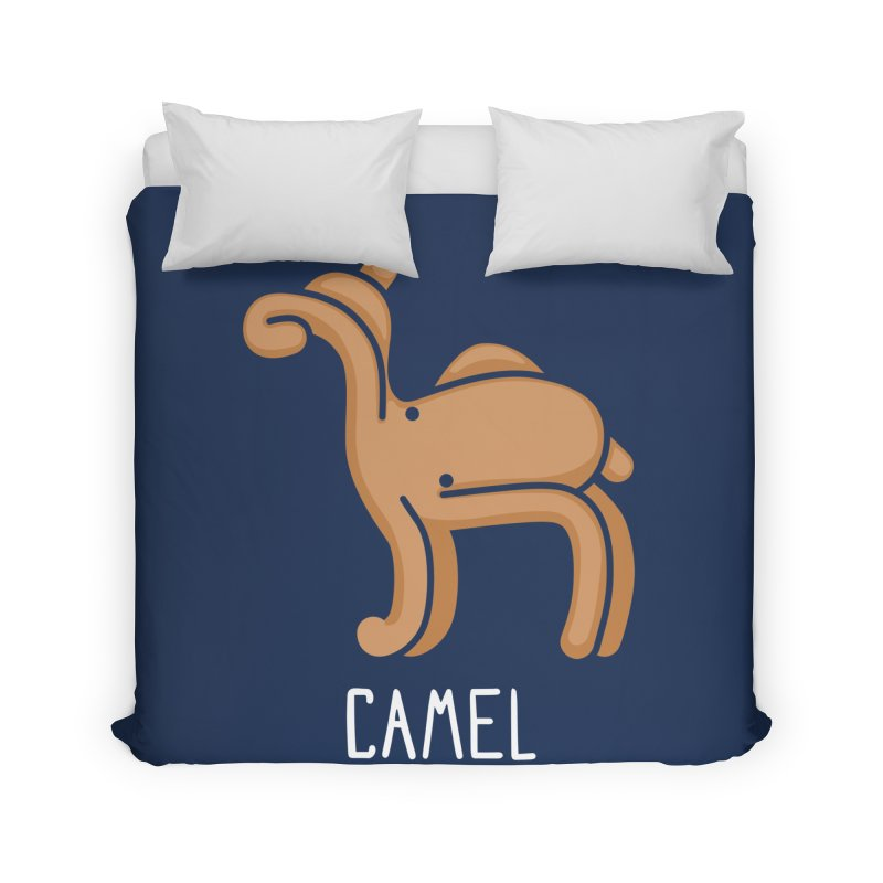 Camel (Not an Octopus) Home Duvet by Gyledesigns' Artist Shop