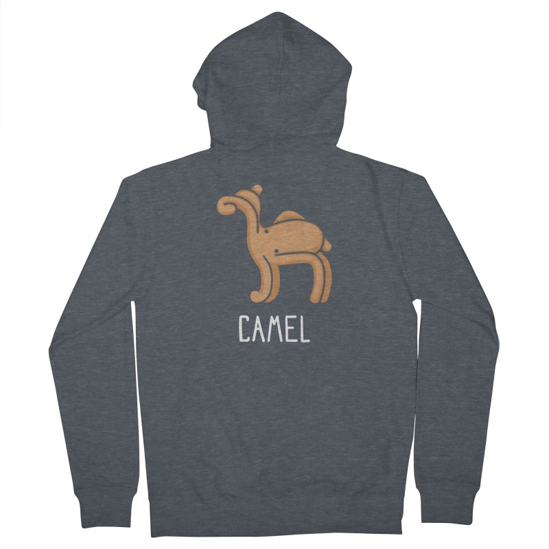 Camel (Not an Octopus) Men's Zip-Up Hoody by Gyledesigns' Artist Shop