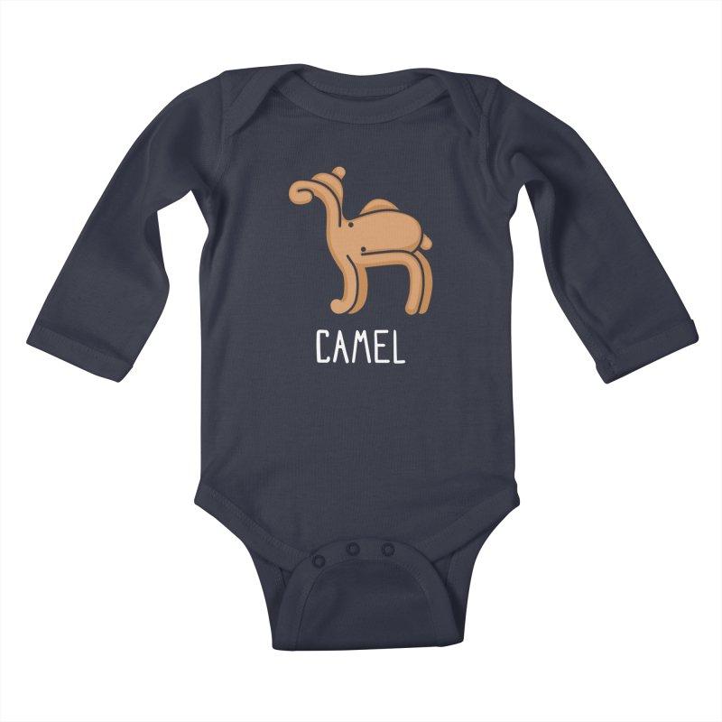 Camel (Not an Octopus) Kids Baby Longsleeve Bodysuit by Gyledesigns' Artist Shop