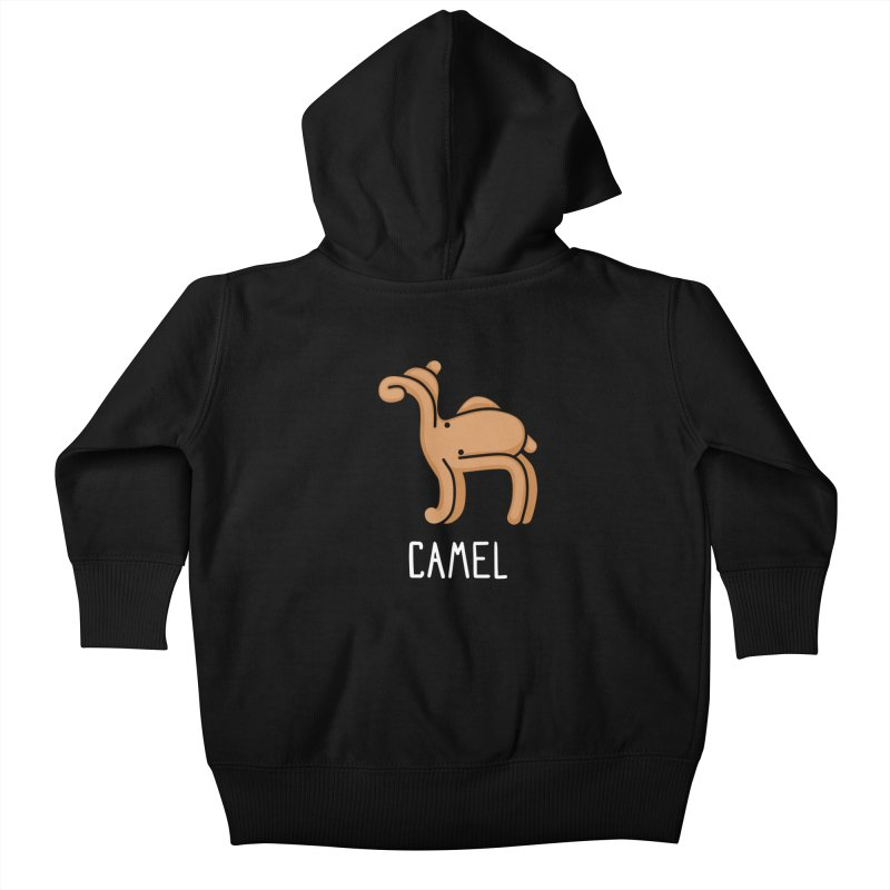 Camel (Not an Octopus) Kids Baby Zip-Up Hoody by Gyledesigns' Artist Shop