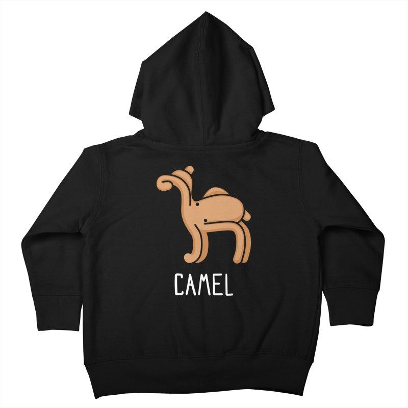 Camel (Not an Octopus) Kids Toddler Zip-Up Hoody by Gyledesigns' Artist Shop