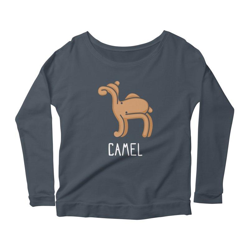 Camel (Not an Octopus) Women's Longsleeve Scoopneck  by Gyledesigns' Artist Shop