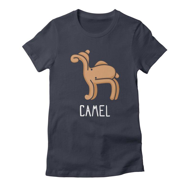 Camel (Not an Octopus) Women's Fitted T-Shirt by Gyledesigns' Artist Shop