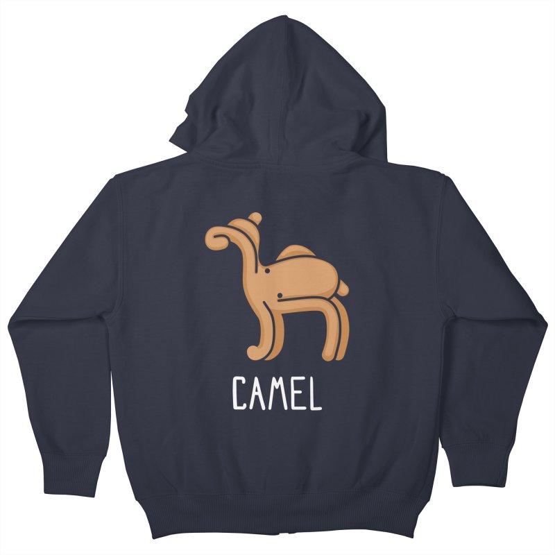 Camel (Not an Octopus) Kids Zip-Up Hoody by Gyledesigns' Artist Shop
