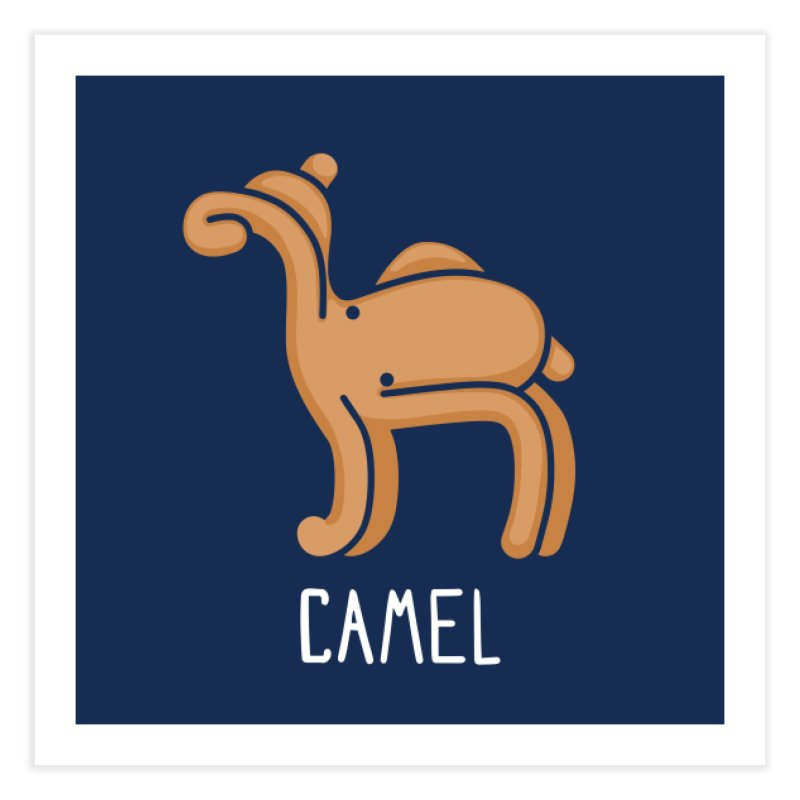 Camel (Not an Octopus) Home Fine Art Print by Gyledesigns' Artist Shop