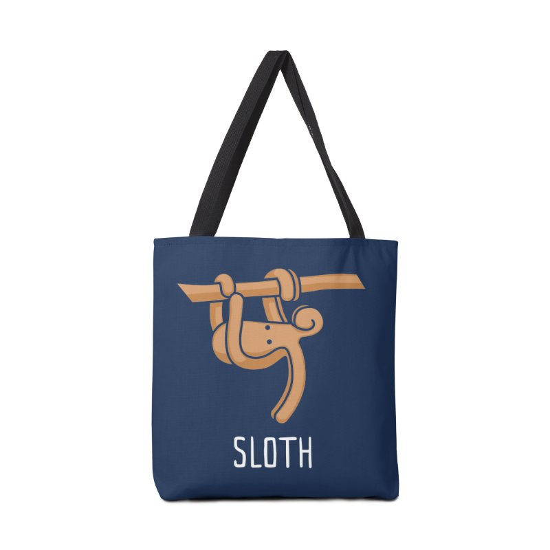 Sloth (Not an Octopus) Accessories Bag by Gyledesigns' Artist Shop