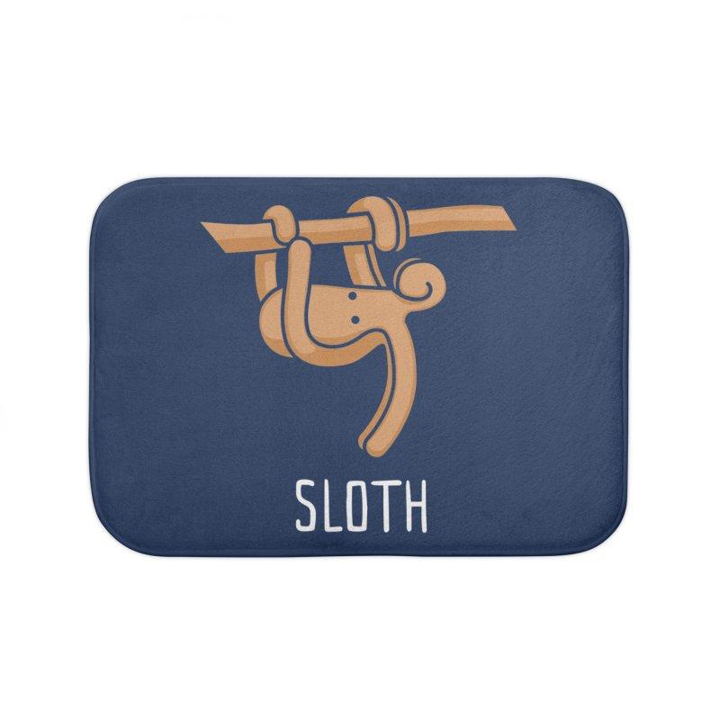 Sloth (Not an Octopus) Home Bath Mat by Gyledesigns' Artist Shop
