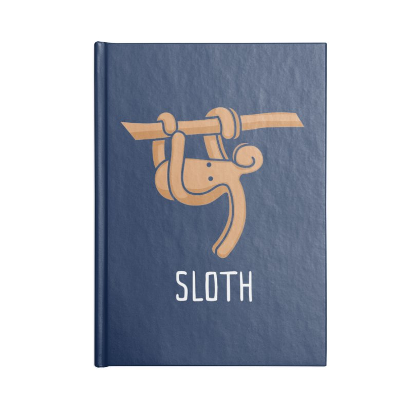 Sloth (Not an Octopus) Accessories Lined Journal Notebook by Gyledesigns' Artist Shop