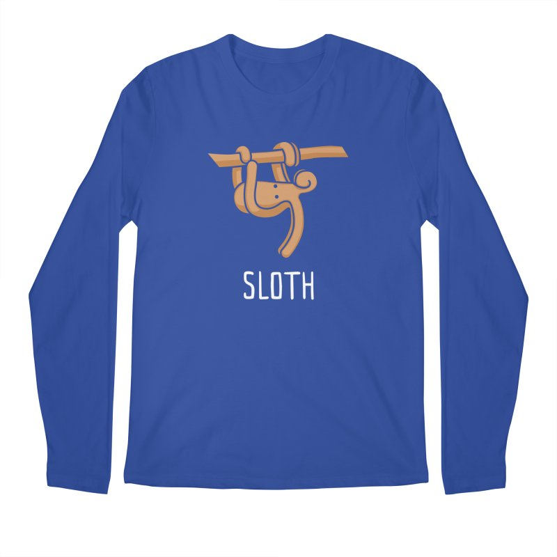Sloth (Not an Octopus) Men's Regular Longsleeve T-Shirt by Gyledesigns' Artist Shop
