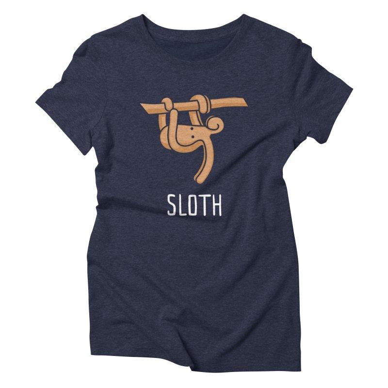 Sloth (Not an Octopus) Women's Triblend T-Shirt by Gyledesigns' Artist Shop