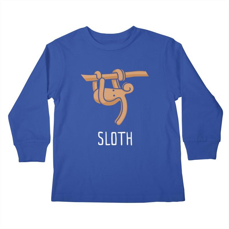 Sloth (Not an Octopus) Kids Longsleeve T-Shirt by Gyledesigns' Artist Shop