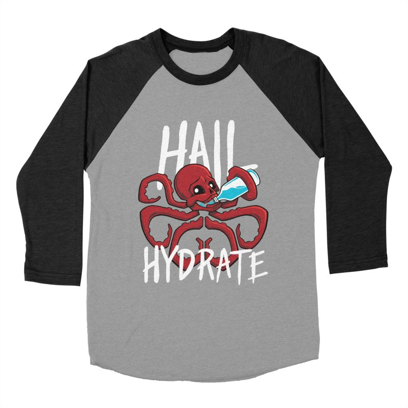 Hail Hydrate! Women's Baseball Triblend T-Shirt by Gyledesigns' Artist Shop