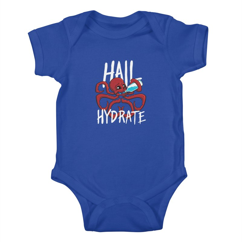 Hail Hydrate! Kids Baby Bodysuit by Gyledesigns' Artist Shop
