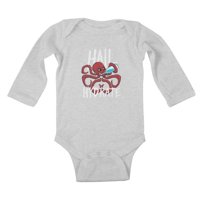 Hail Hydrate! Kids Baby Longsleeve Bodysuit by Gyledesigns' Artist Shop