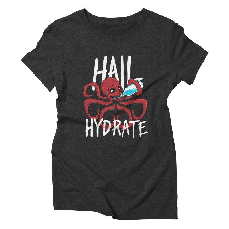 Hail Hydrate! Women's Triblend T-shirt by Gyledesigns' Artist Shop