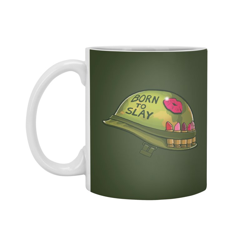 Born to Slay Accessories Standard Mug by Gyledesigns' Artist Shop