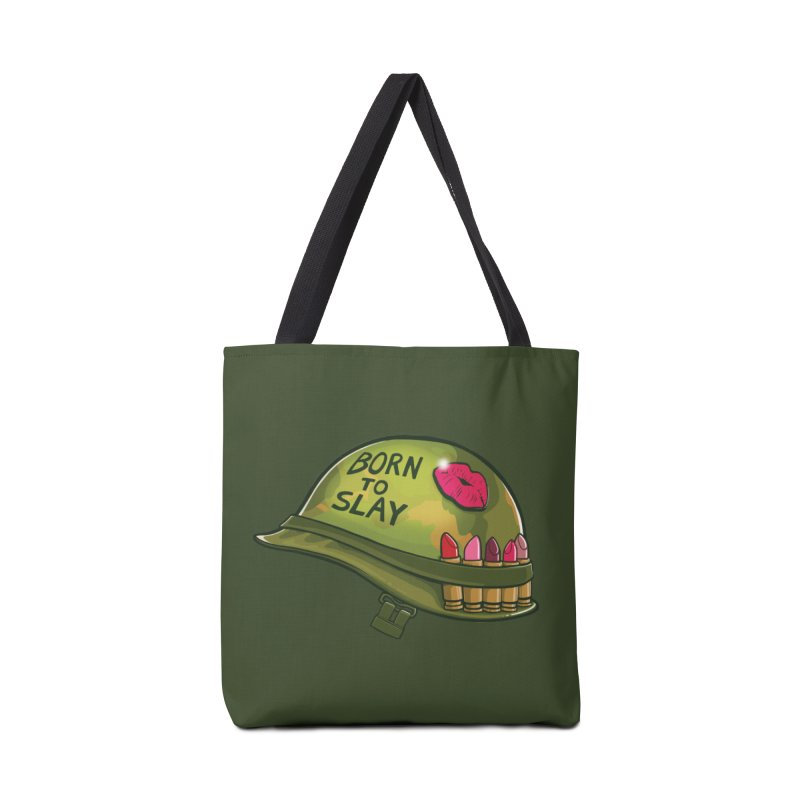 Born to Slay Accessories Tote Bag Bag by Gyledesigns' Artist Shop
