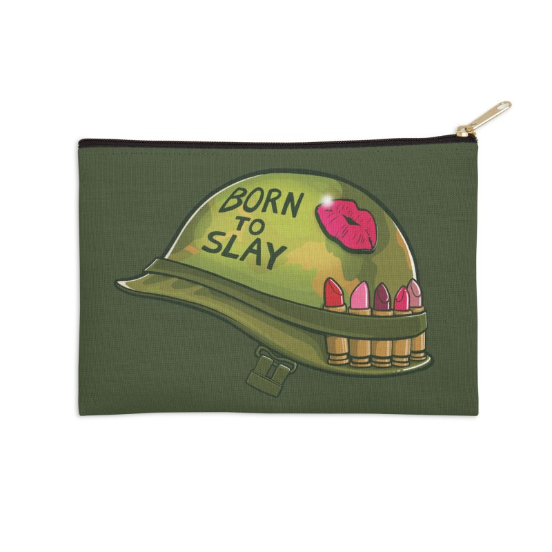 Born to Slay Accessories Zip Pouch by Gyledesigns' Artist Shop