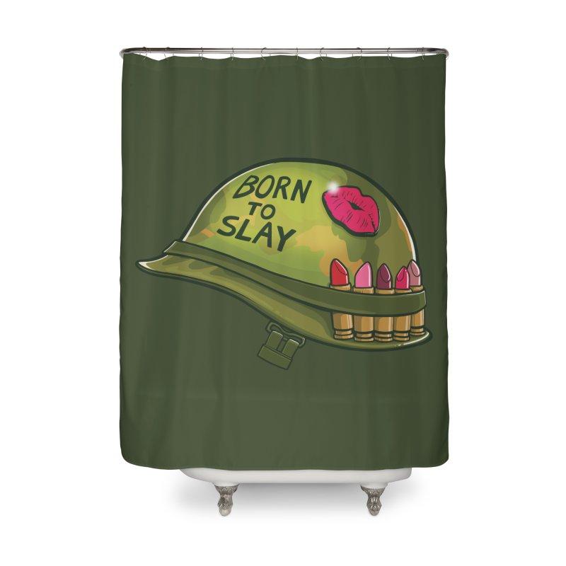 Born to Slay Home Shower Curtain by Gyledesigns' Artist Shop