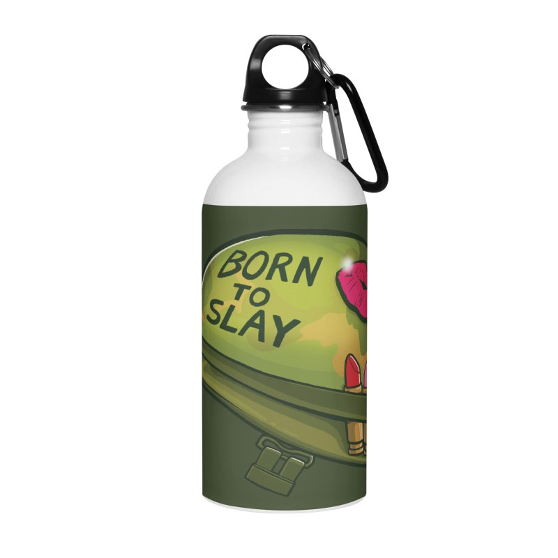Born to Slay Accessories Water Bottle by Gyledesigns' Artist Shop