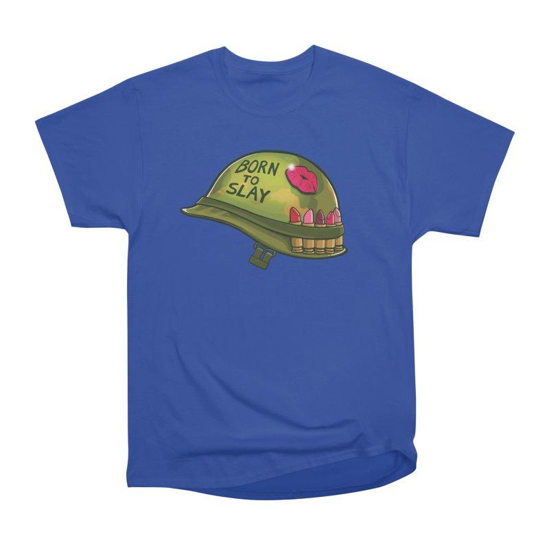 Born to Slay Women's Heavyweight Unisex T-Shirt by Gyledesigns' Artist Shop
