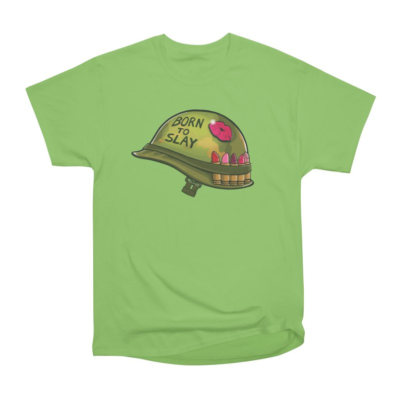 Born to Slay Men's Heavyweight T-Shirt by Gyledesigns' Artist Shop