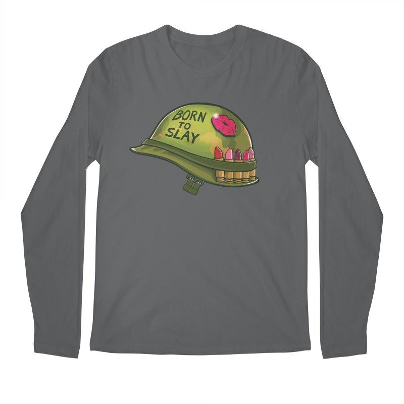Born to Slay Men's Regular Longsleeve T-Shirt by Gyledesigns' Artist Shop