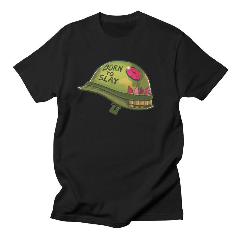 Born to Slay Women's Regular Unisex T-Shirt by Gyledesigns' Artist Shop