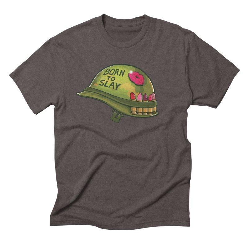 Born to Slay Men's Triblend T-Shirt by Gyledesigns' Artist Shop