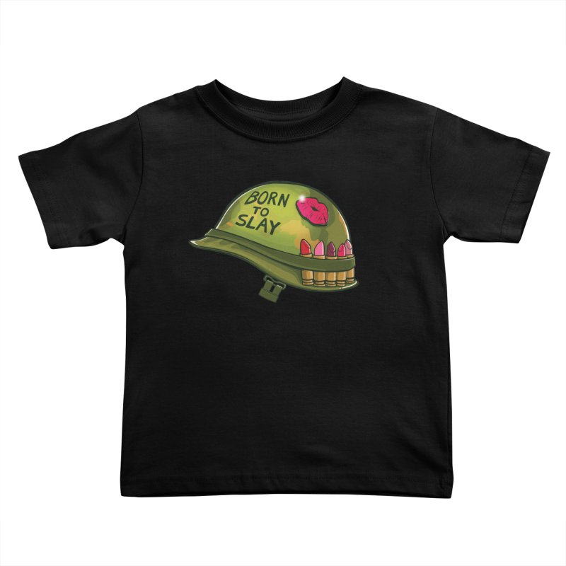 Born to Slay Kids Toddler T-Shirt by Gyledesigns' Artist Shop