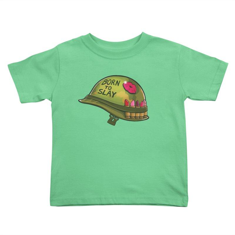 Born to Slay Kids Toddler T-Shirt by Gyledesigns' Artist Shop