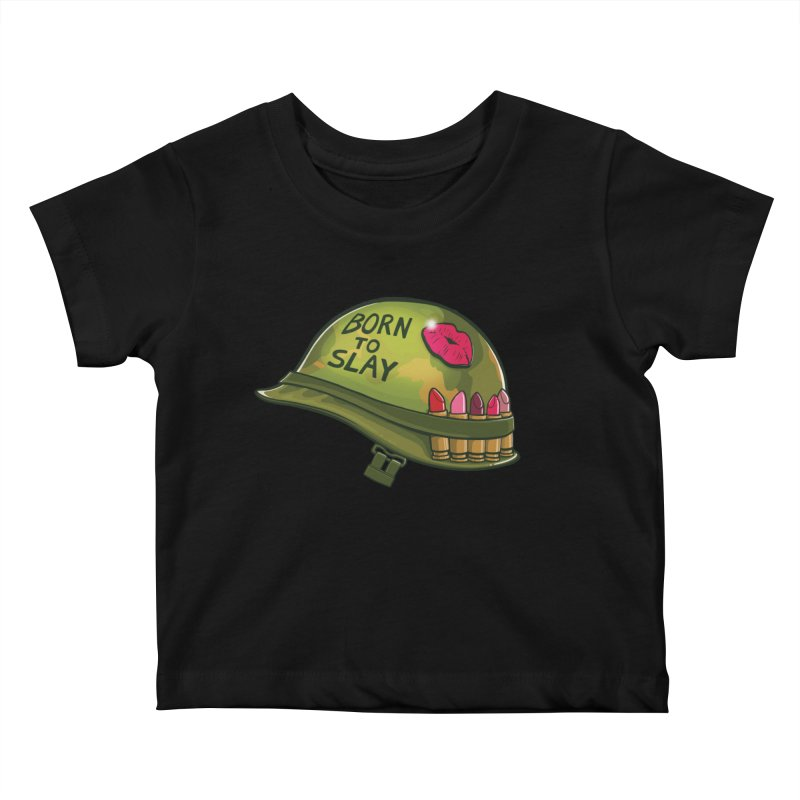 Born to Slay Kids Baby T-Shirt by Gyledesigns' Artist Shop