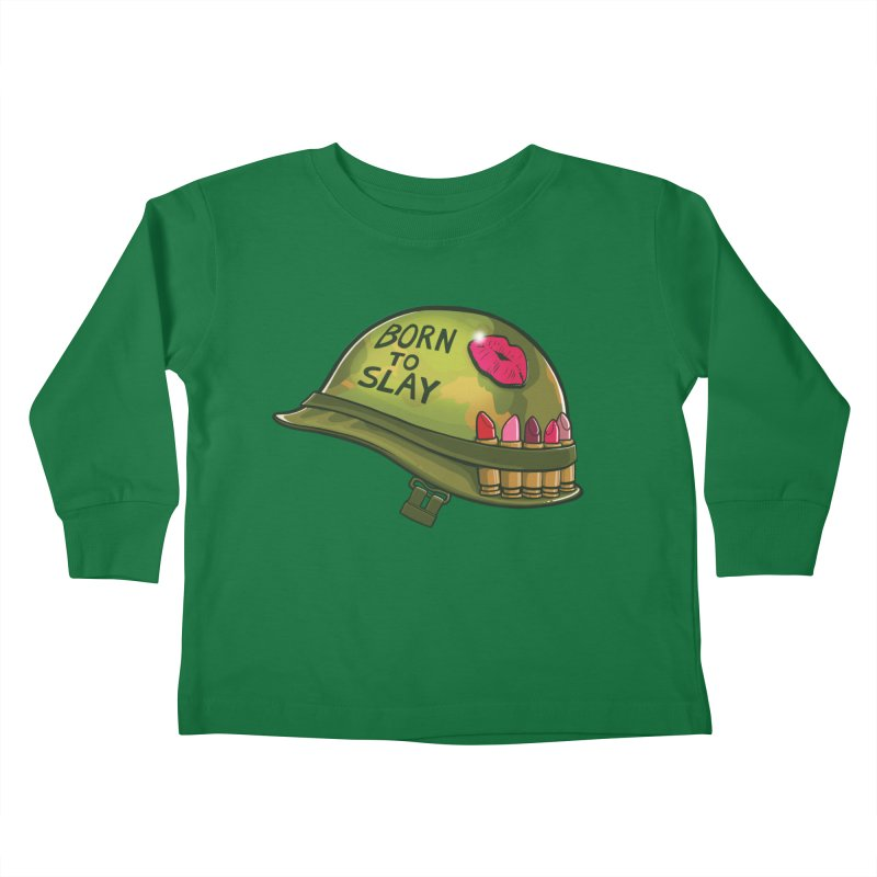 Born to Slay Kids Toddler Longsleeve T-Shirt by Gyledesigns' Artist Shop