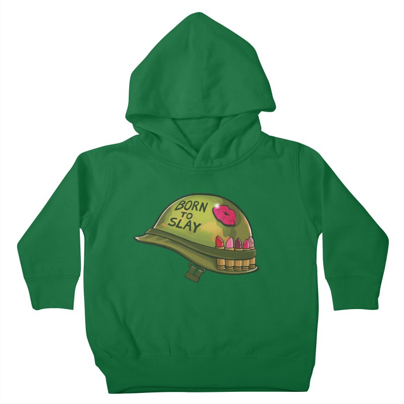Born to Slay Kids Toddler Pullover Hoody by Gyledesigns' Artist Shop