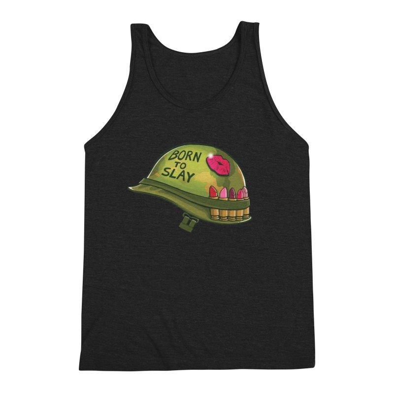 Born to Slay Men's Triblend Tank by Gyledesigns' Artist Shop