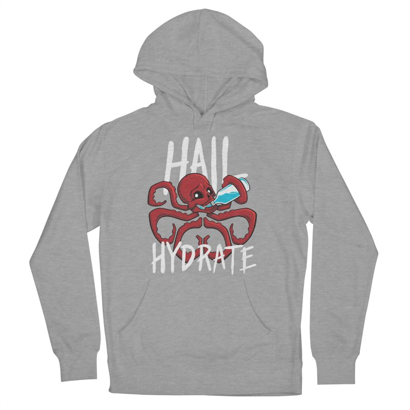 Hail Hydrate Men's French Terry Pullover Hoody by Gyledesigns' Artist Shop