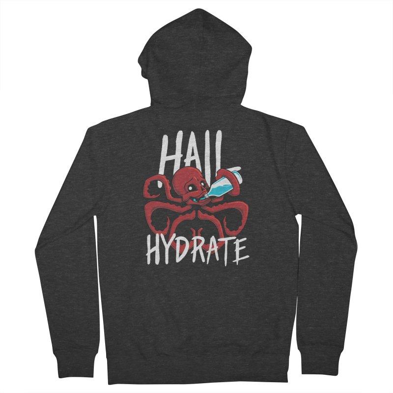 Hail Hydrate Men's Zip-Up Hoody by Gyledesigns' Artist Shop