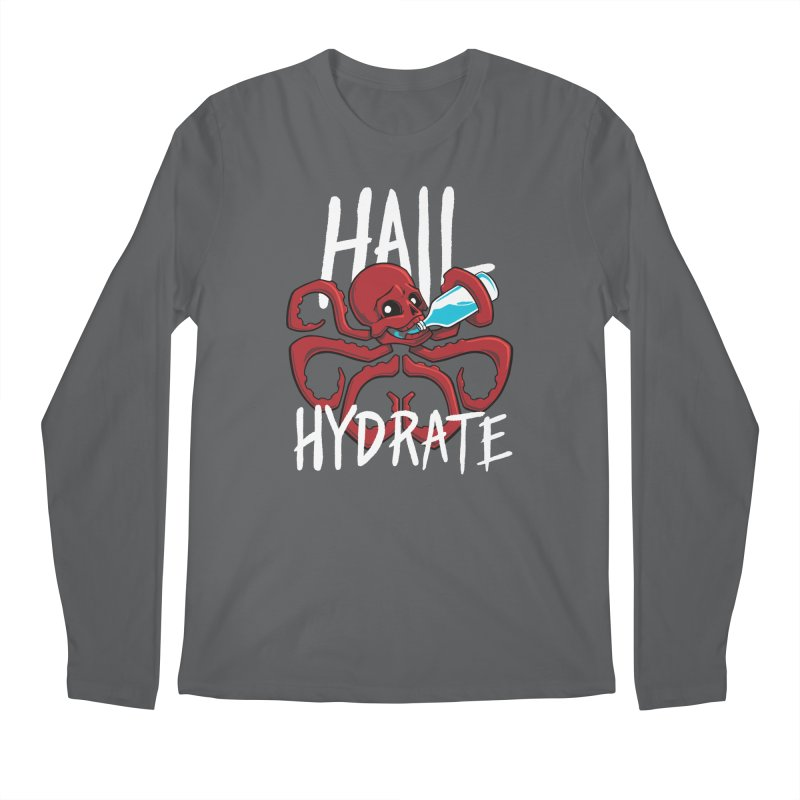 Hail Hydrate Men's Regular Longsleeve T-Shirt by Gyledesigns' Artist Shop