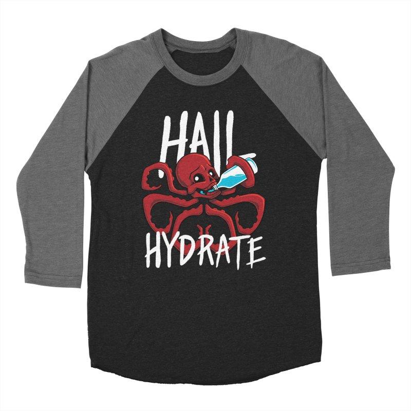 Hail Hydrate Women's Baseball Triblend Longsleeve T-Shirt by Gyledesigns' Artist Shop