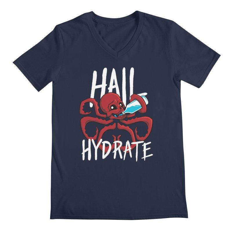 Hail Hydrate Men's Regular V-Neck by Gyledesigns' Artist Shop