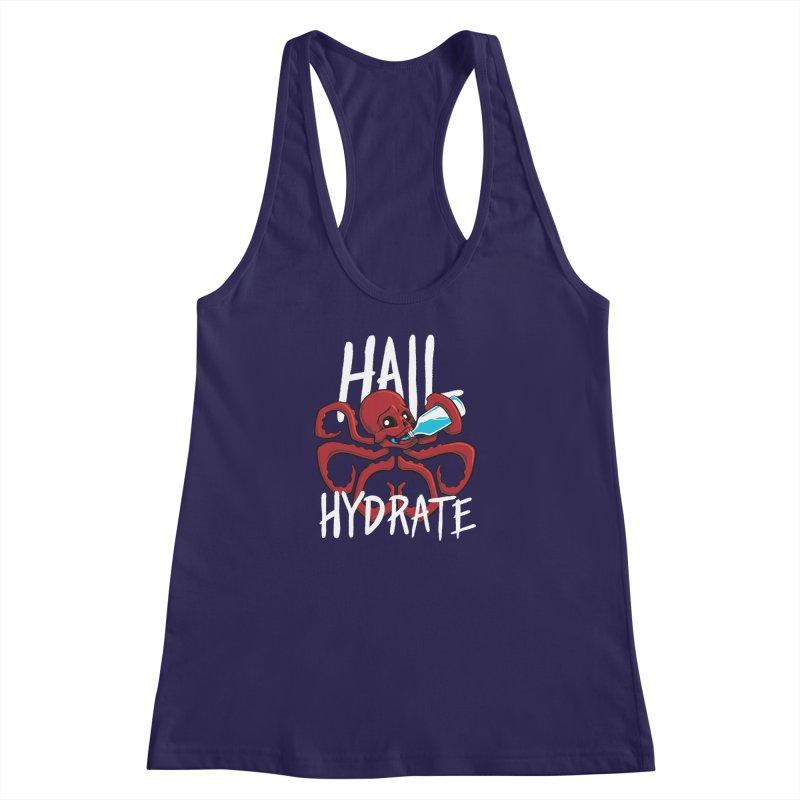 Hail Hydrate Women's Racerback Tank by Gyledesigns' Artist Shop